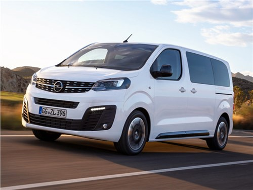 Новость про Opel Zafira - Opel Zafira Life 2020