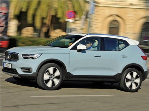 Новость про Volvo XC40 - Volvo XC40