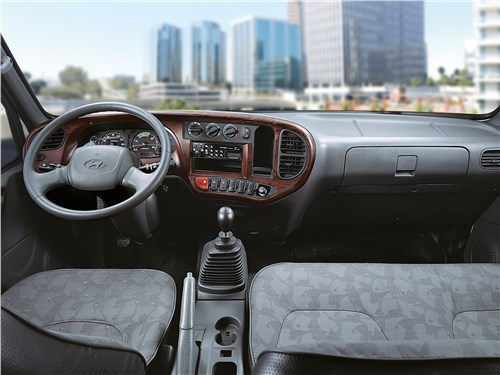 Hyundai HD78 кабина