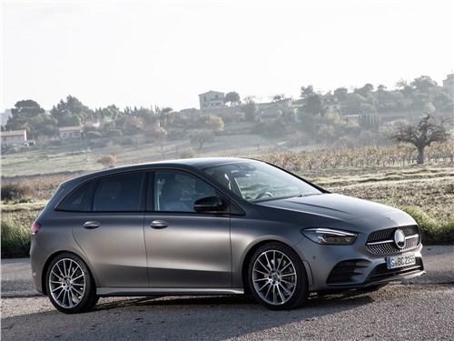 Mercedes-Benz B-Class 2019 вид сбоку