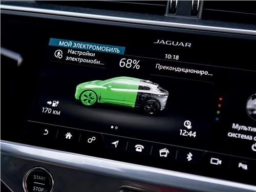 Jaguar I-PACE 2019 монитор