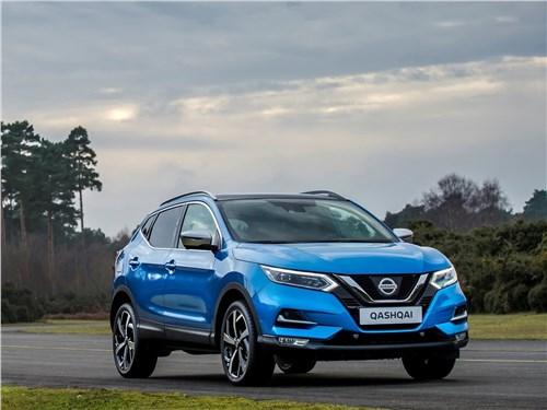 Nissan Qashqai - Nissan Qashqai 2018 вид спереди