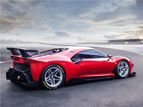 Гибридный Ferrari получит сразу четыре мотора