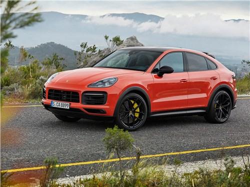 Porsche Cayenne Coupe 2020 вид спереди