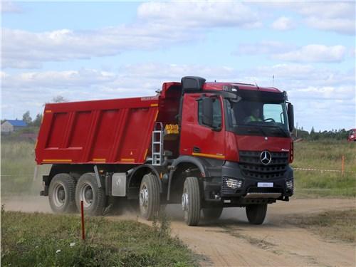 Для строительной линейки Arocs предусмотрено 14 вариантов кабины