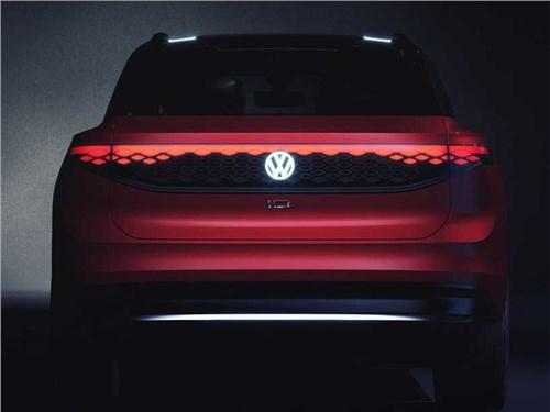Volkswagen представил большой электрический кроссовер
