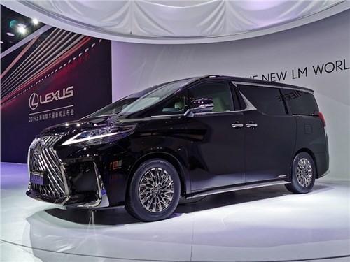 Представлен первый минивэн марки Lexus