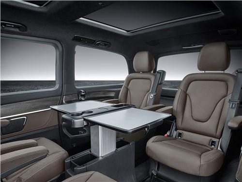 Предпросмотр mercedes-benz v-klasse 2020 салон