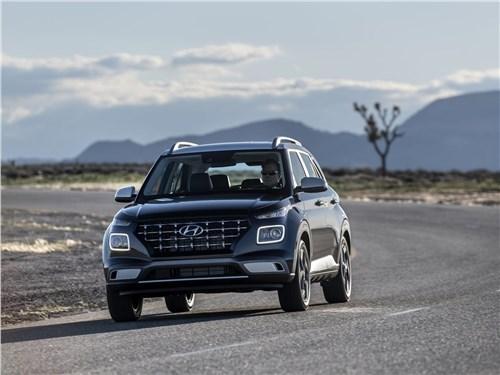 Hyundai Venue 2020 вид спереди