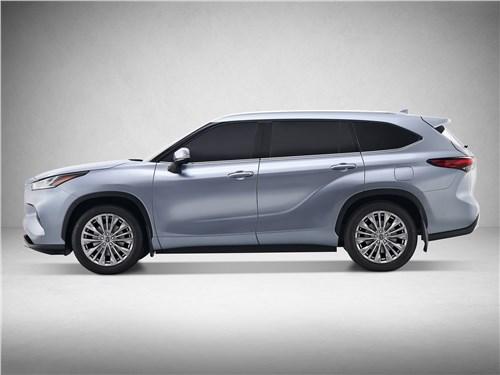 На разных полюсах Highlander - Toyota Highlander 2020 вид сбоку