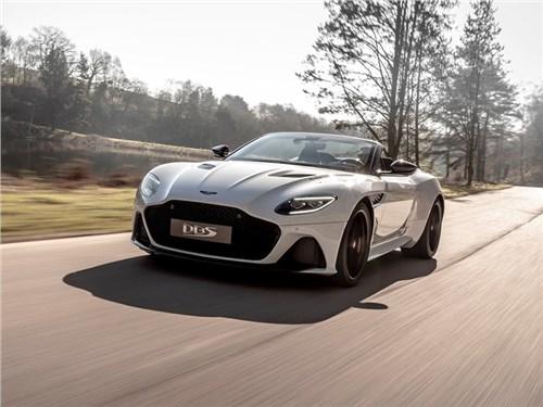 Aston Martin представил свой самый быстрый кабриолет