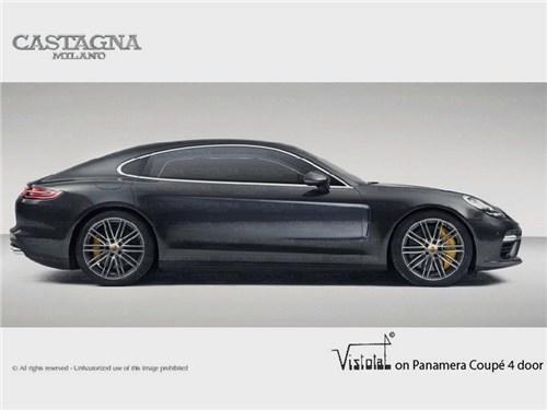 Новость про Porsche Panamera - Castagna Milano: Porsche Panamera Vistotal