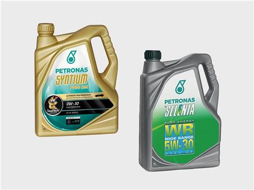 PETRONAS Syntium 7000 DM 0W-30; PETRONAS Selenia WR Pure Energy