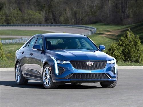 Новость про Cadillac - Cadillac CT4-V 2020