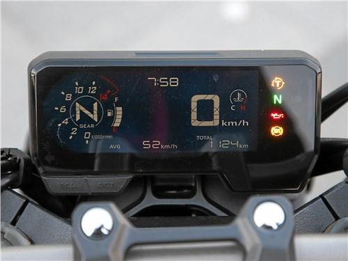 Honda CB650R Neo Sports Cafe приборная панель