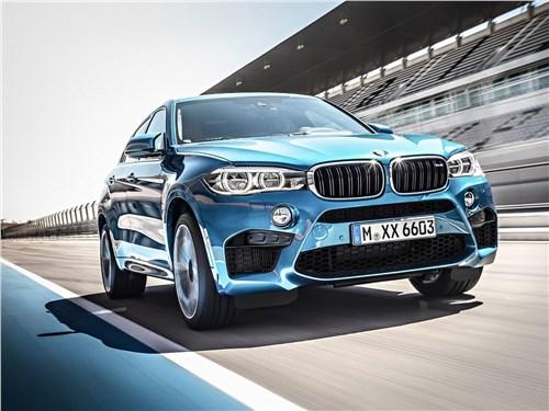 BMW X6 M 2016 вид спереди
