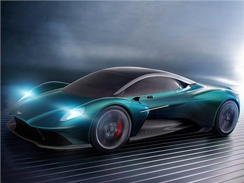 Aston Martin Vanquish получит механическую коробку передач