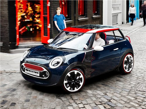 Новость про MINI - Mini Rocketman Concept 2012