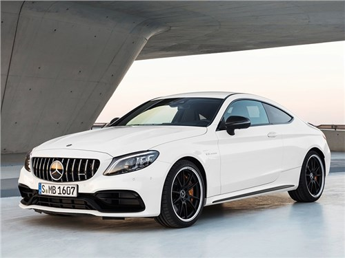 Новость про Mercedes-Benz C-Class AMG - Mercedes-Benz C63 S AMG Coupe 2019