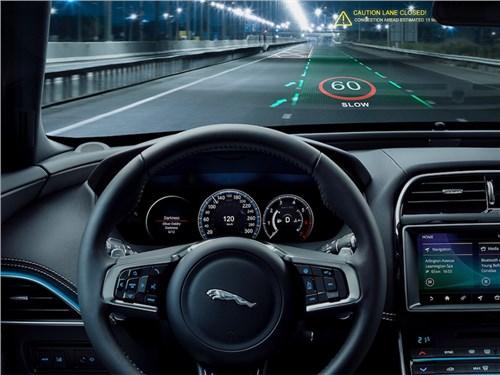 В автомобилях Jaguar и Land Rover появится трехмерный экран