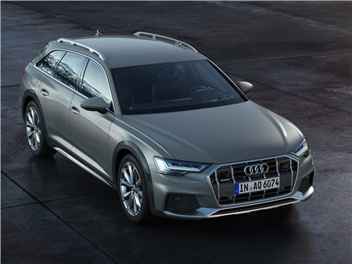 Audi A6 allroad quattro - Audi A6 allroad quattro 2020 вид спереди сверху
