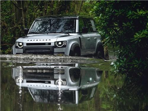 "Эвакуатор ""4х4"" (Defender) Defender 110 - Land Rover Defender 110 2020 вид спереди"