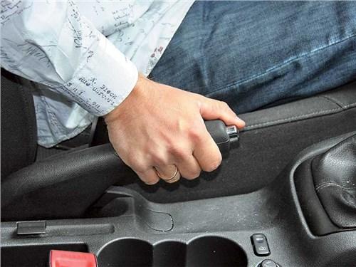 Хороним автомобильный ручник