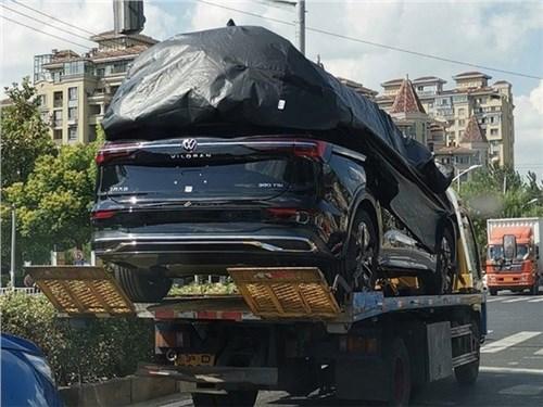 Volkswagen подарит Китаю огромный минивэн