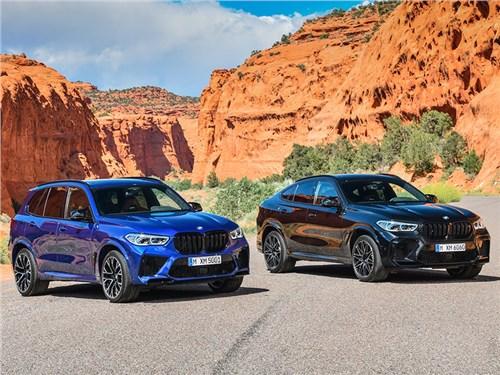 Новость про BMW - BMW X5 M и BMW X6 M