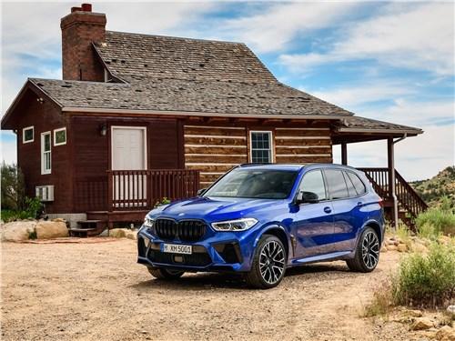 BMW X5 M 2020 вид спереди