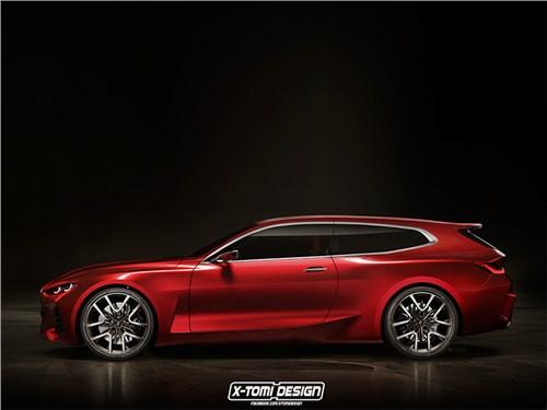 Новость про BMW - BMW 4 ShootingBrake Concept