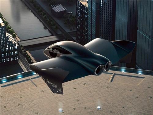 Новость про Porsche - Porsche и Boeing построят летающее такси
