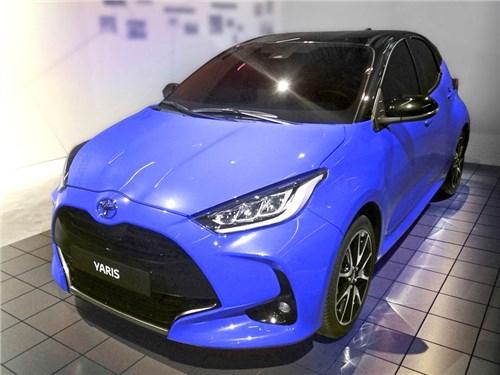 Новый Toyota Yaris. Секретом не является