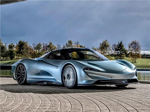 McLaren вывел модель Speedtail на дорожные тесты