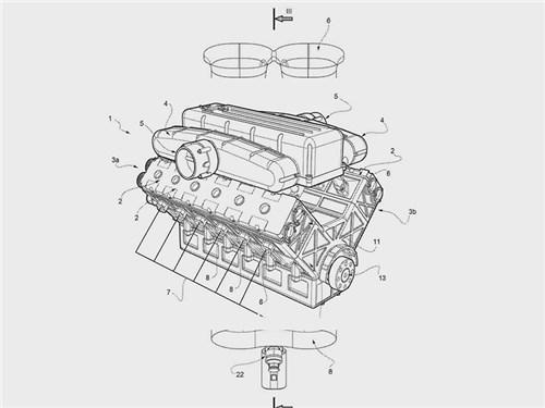 Новость про Ferrari - Ferrari будет строить двигатели инновационным образом