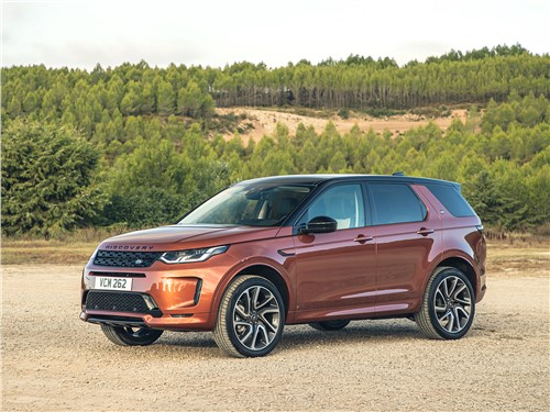 Land Rover Discovery Sport 2020 вид сбоку