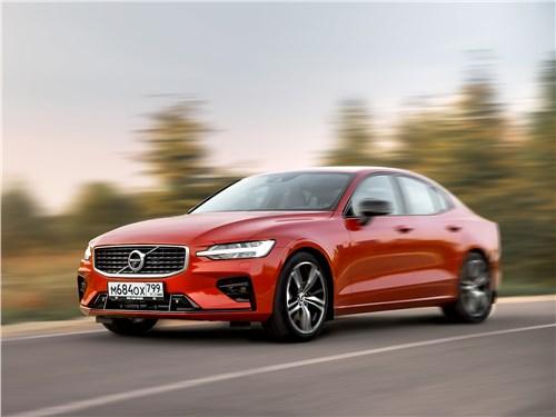 Volvo S60 2019 вид спереди сбоку