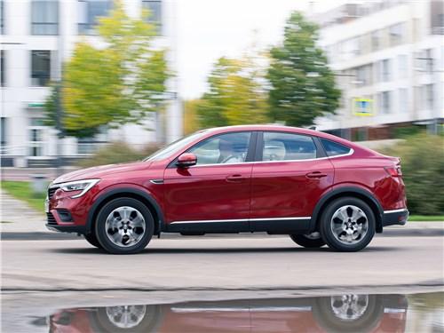 Renault Arkana 2020 вид сбоку