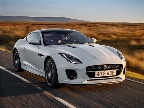 Jaguar объявил дату премьеры обновленного F-Type