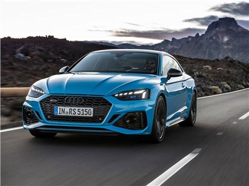 Audi RS5 Coupe 2020 вид спереди