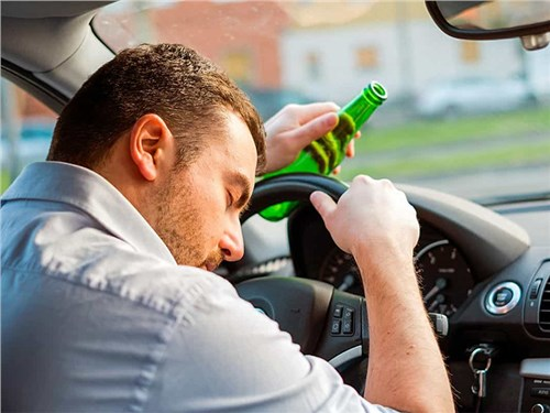 У пьяных водителей предполагается отнимать автомобили