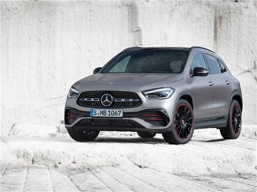 Против правил GLA-Class - Mercedes-Benz GLA 2021 вид спереди