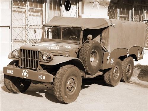 Грузовики Dodge WC-62 поступали в СССР по ленд-лизу