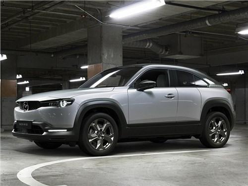 Новость про Mazda MX-30 - Mazda MX-30 2021