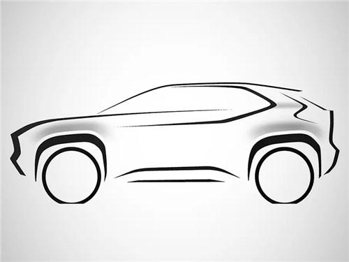 Новость про Toyota - Toyota превратит Yaris в компактный кроссовер