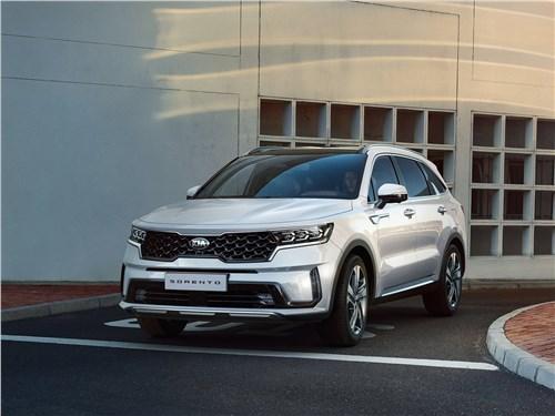 KIA Sorento Prime и Renault Koleos: 7-местный «кореец» или 5-местный «француз»? Sorento - Kia Sorento 2021 вид спереди