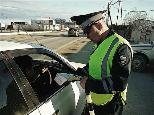 Минюст отказался повышать штрафы водителям