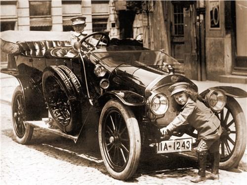 Модель Audi тип А, 1910 год