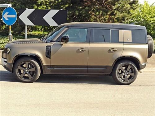 Land Rover начал испытания нового Defender с 500-сильным мотором