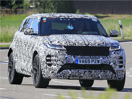Range Rover Evoque станет семиместным